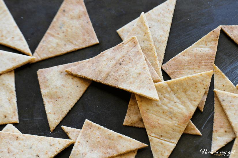 paleo pita chips | Gundry