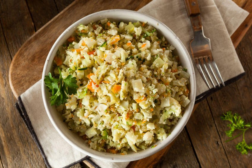 Gundry's Delicious Cauliflower Rice Pilaf (Video)