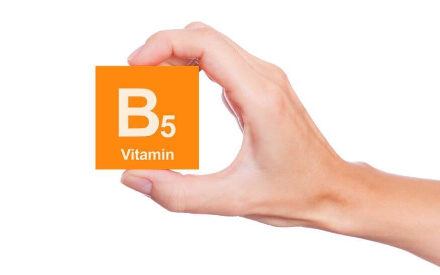 vitamin b5 anxiety