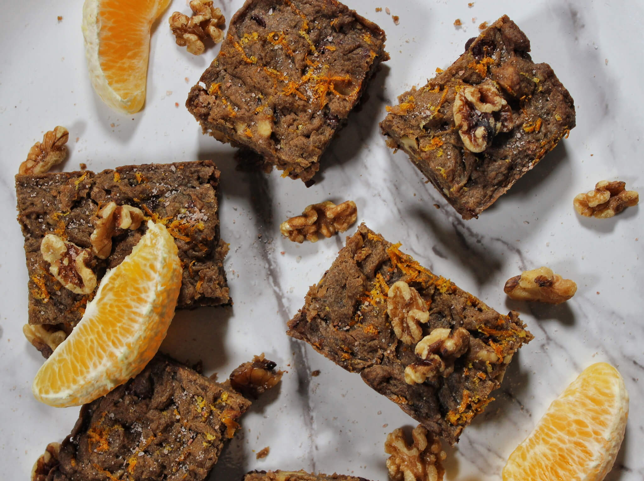 Salted Citrus Vegan Blondies Recipe (you won't believe they're lectin-free!)