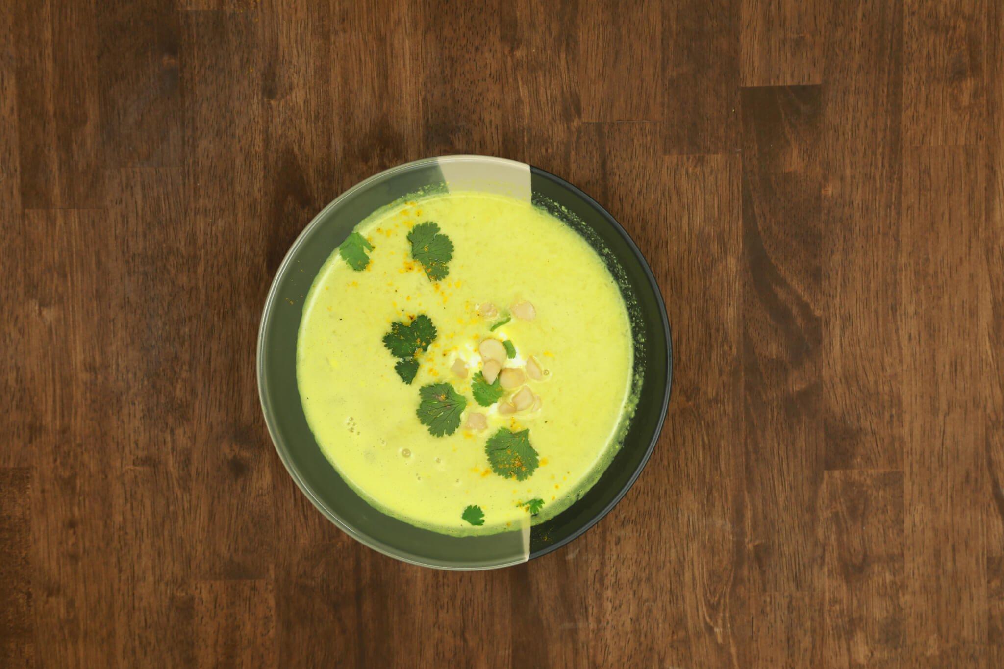 Dr. Gundry's Vegan Curry Cauliflower Soup Recipe