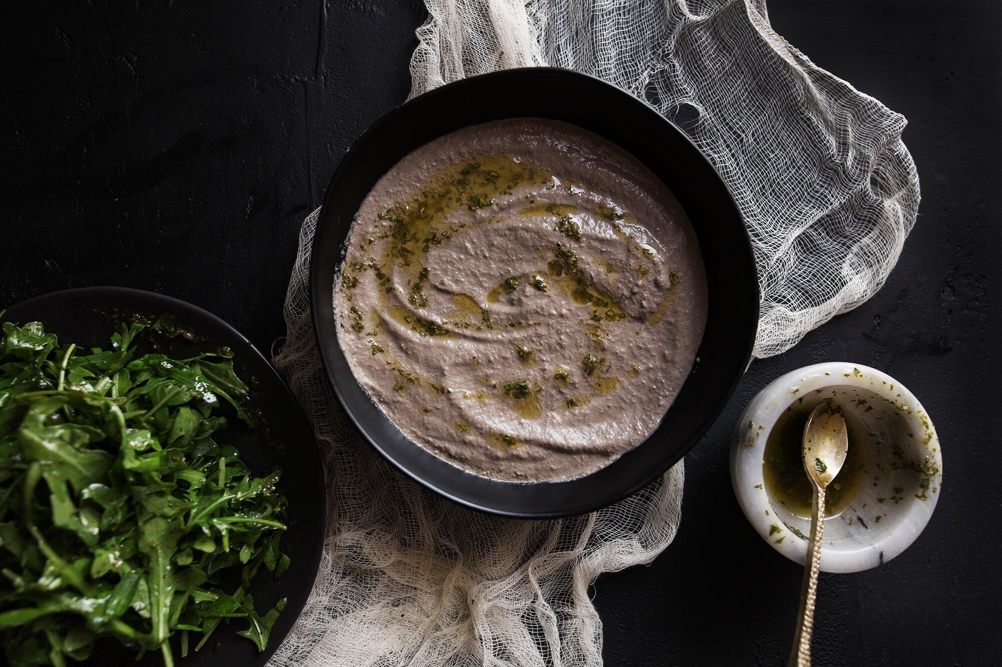 Dr. Gundry's Vegan Raw Mushroom Soup Recipe
