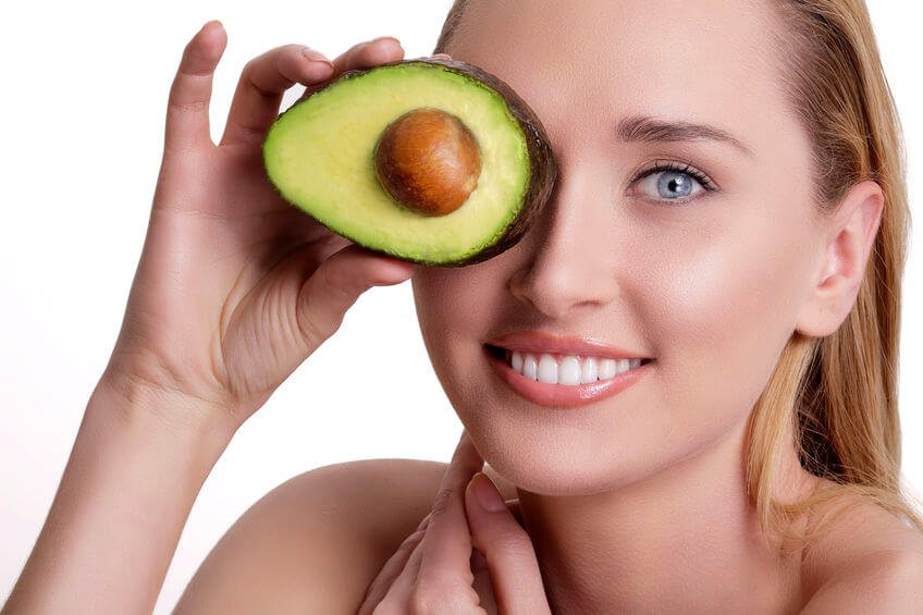 avocado healthy skin