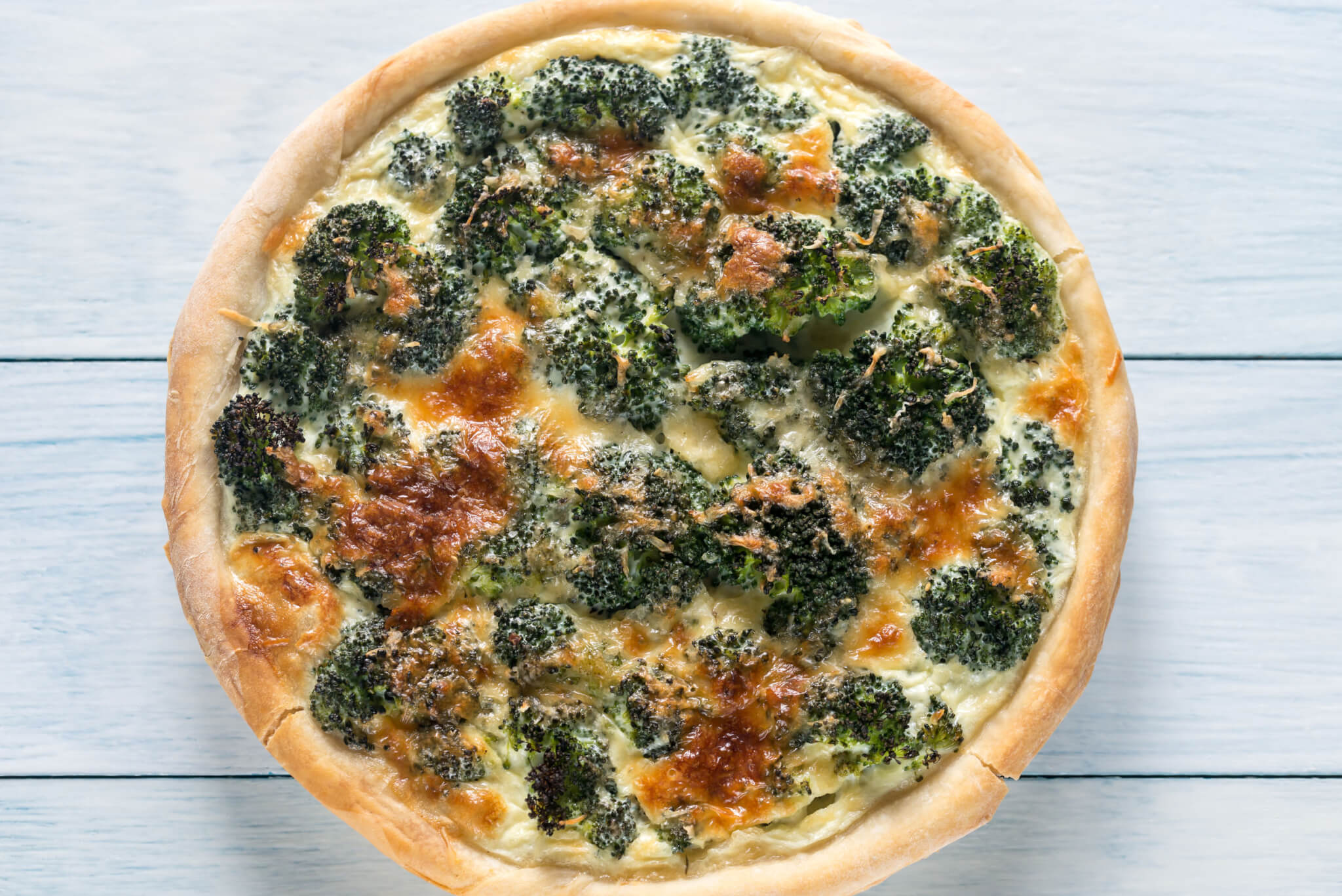 Broccoli Cheddar Quiche | GundryMD
