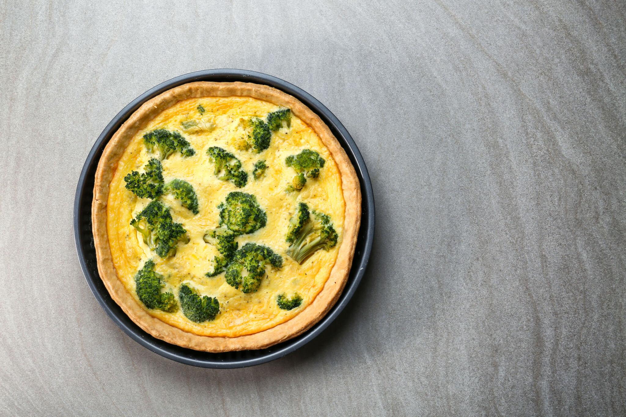 Broccoli Cheddar Quiche | GundryMD