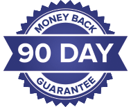 90-Day Money Back Guarantee Image