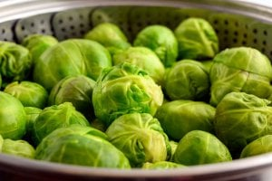 brussels sprouts in steam cooker | Gundry MD