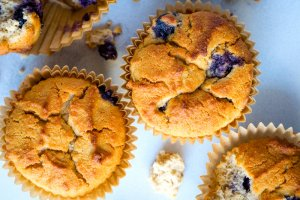 Dr. Gundry's Blueberry Miso Muffin Recipe