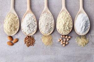 various gluten-free flours