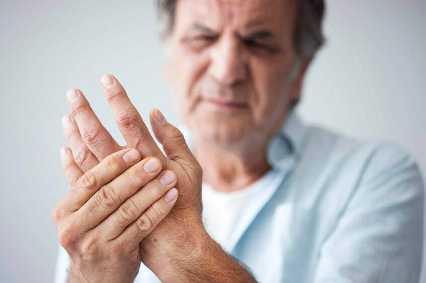 man with joint pain | Gundry MD