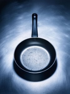 damaged-nonstick-cookware | Gundry MD