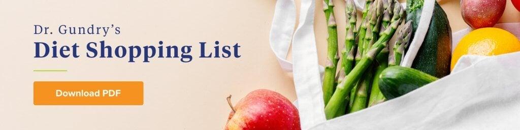 dr gundry shopping list | Gundry MD